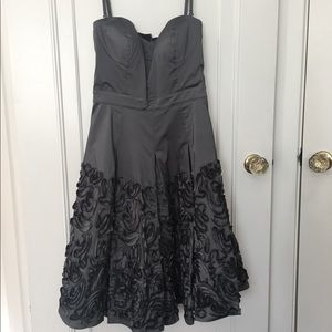 Pewter Jessica Simpson Cocktail Dress